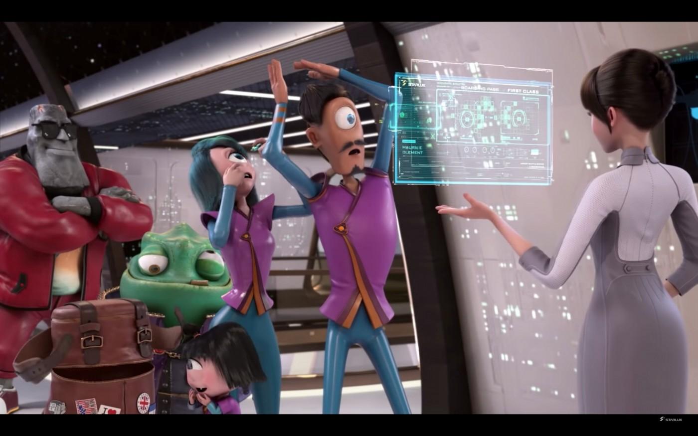 張國煒把安全影片當「皮克斯」電影拍?星宇航空用這部動畫吸乘客目光