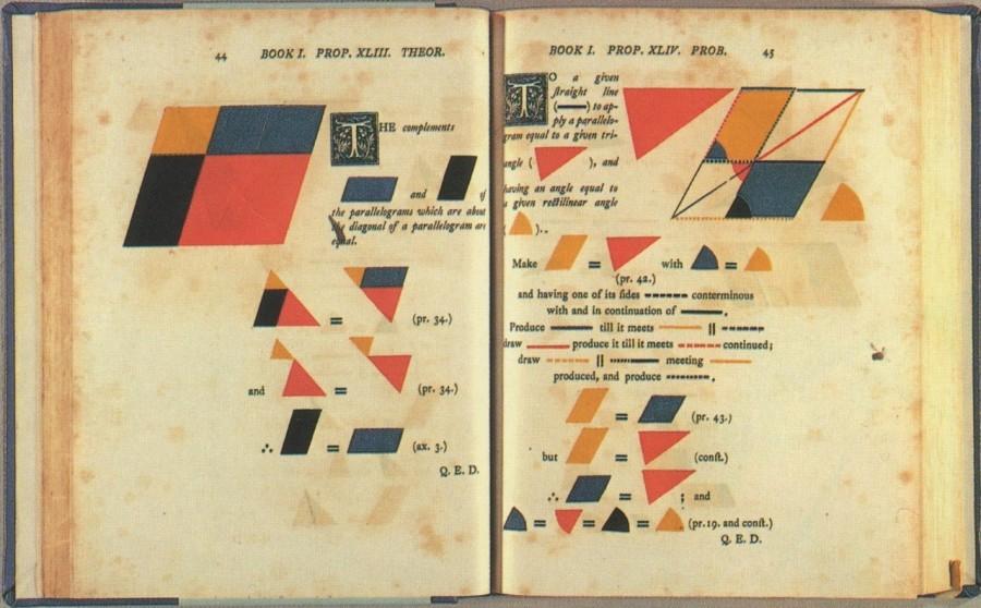 """img 1574064937 49166@900 - 数学课本也能很治愈!19 世纪《几何原本》开放线上浏览,""""网页互动版""""同步公开"""