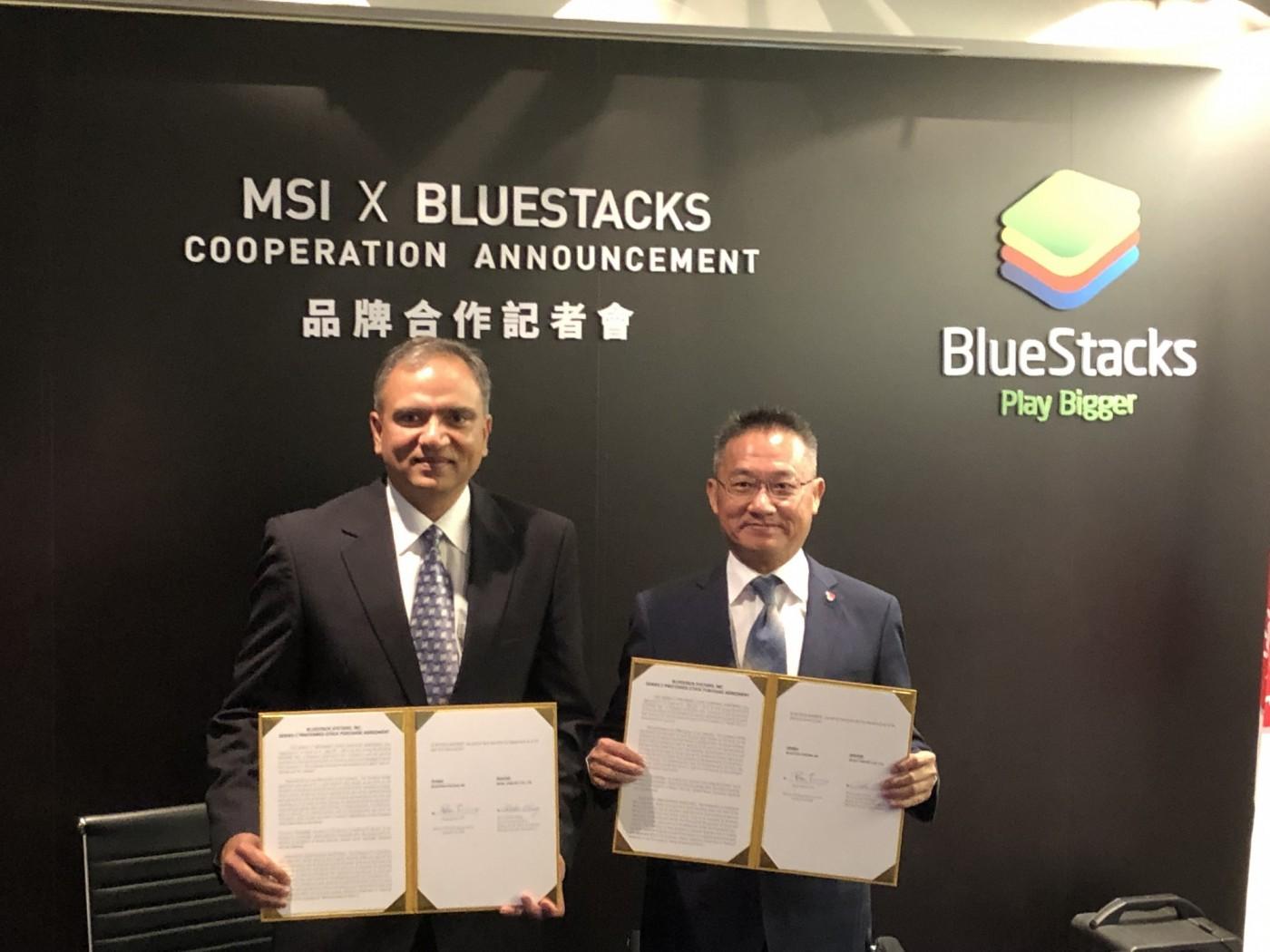 手遊電競是未來!微星宣布共同領投Android模擬器廠商BlueStacks