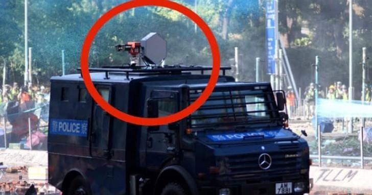 危城香港響起「聲波炮」⋯⋯港警拿它對付反送中,要是被「擊中」會怎樣?