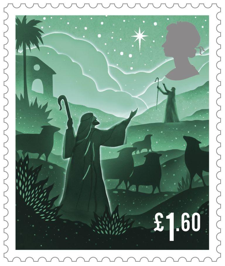 """剪纸艺术跃上邮票!英国推出""""2019 圣诞邮票""""邀艺术家以剪纸和微光说故事 8"""