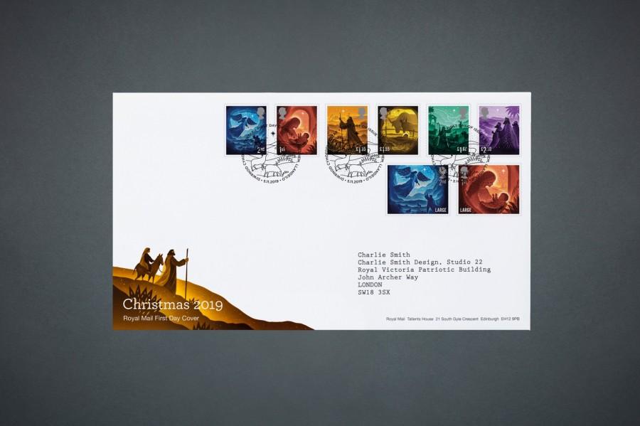 """剪纸艺术跃上邮票!英国推出""""2019 圣诞邮票""""邀艺术家以剪纸和微光说故事 10"""