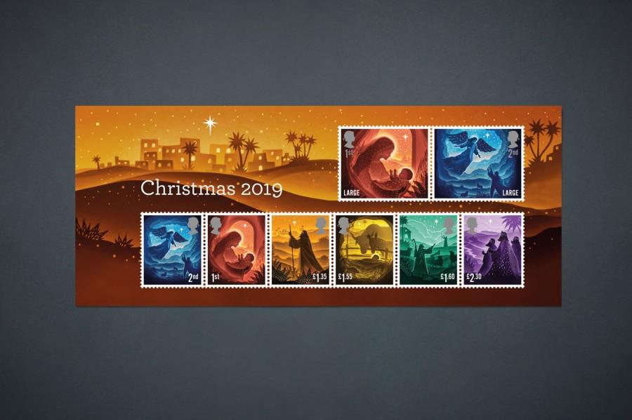 """剪纸艺术跃上邮票!英国推出""""2019 圣诞邮票""""邀艺术家以剪纸和微光说故事 6"""