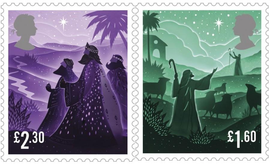 """剪纸艺术跃上邮票!英国推出""""2019 圣诞邮票""""邀艺术家以剪纸和微光说故事 4"""