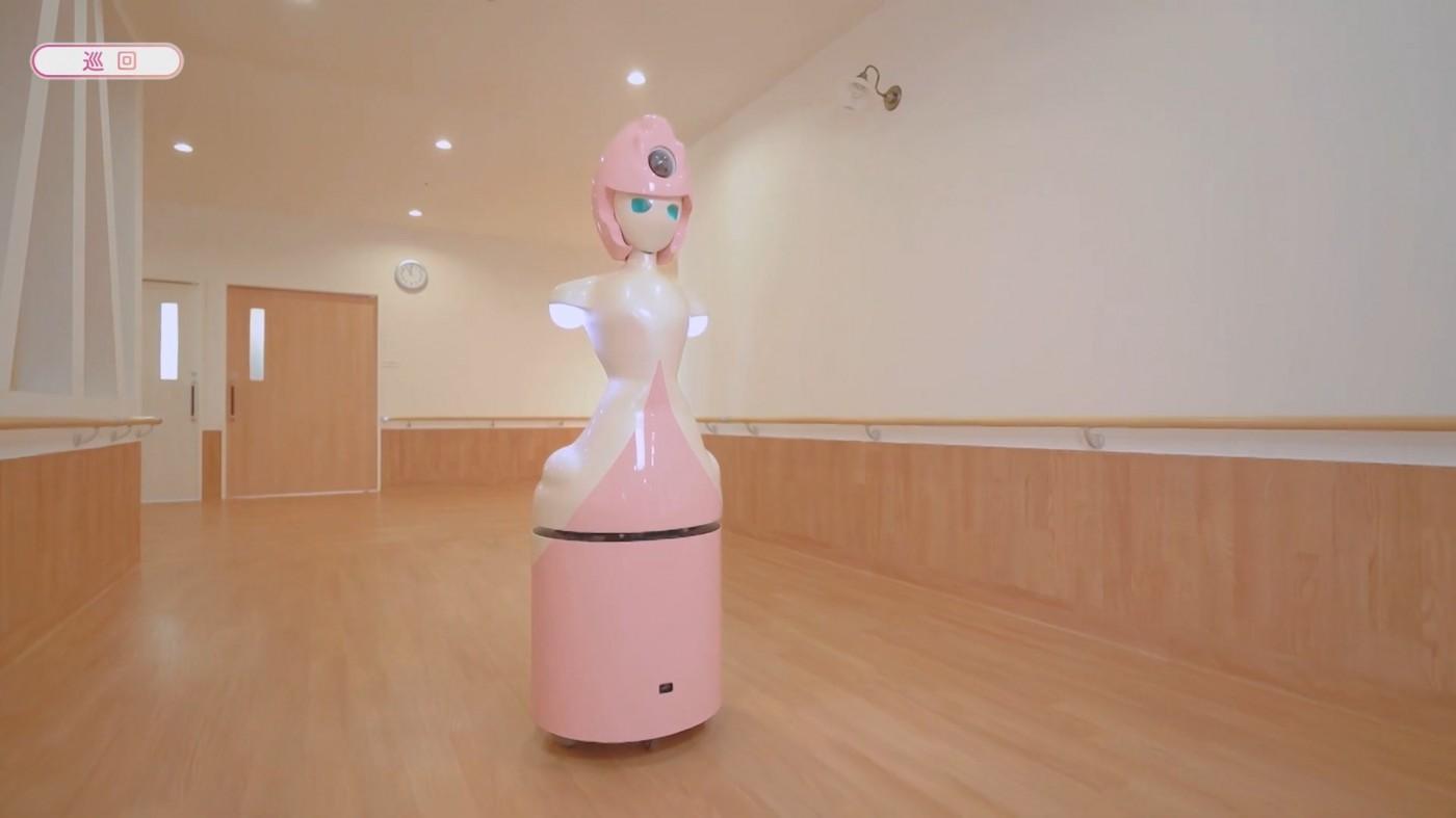解決醫護人員缺工問題?日本上線護理機器人,可24小時巡邏、記錄病人狀況