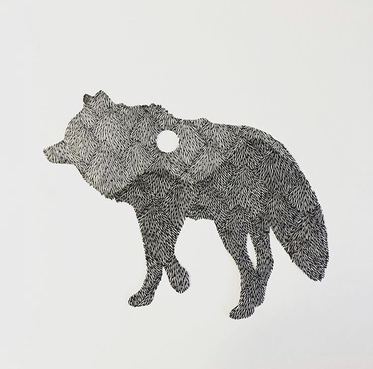 细腻如画的剪纸!每一次创作都是心灵的沉淀,艺术家 Kanako Abe 的剪纸静心术 6