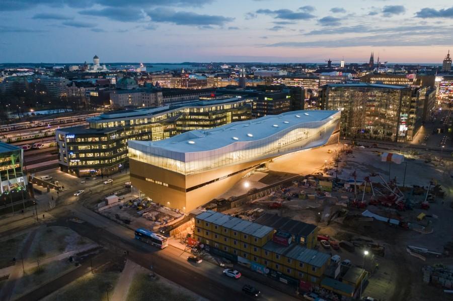 "img 1575366449 62994@900 - 每天万人报到!入列《TIME》世界最佳景点,芬兰""颂歌中央图书馆"""