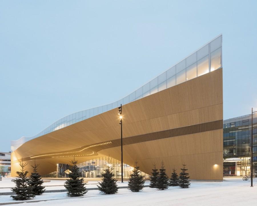 "img 1575366485 27334@900 - 每天万人报到!入列《TIME》世界最佳景点,芬兰""颂歌中央图书馆"""