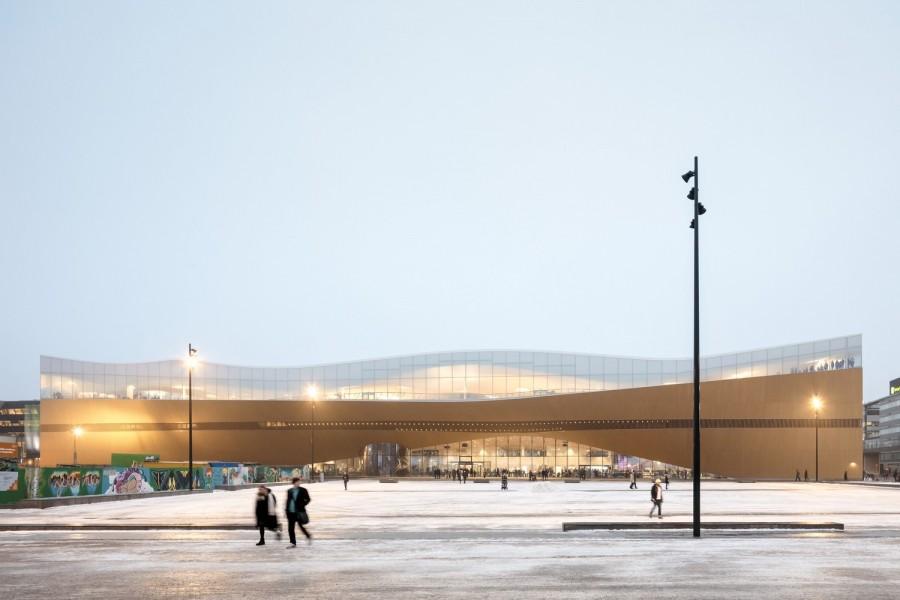 "img 1575366495 70251@900 - 每天万人报到!入列《TIME》世界最佳景点,芬兰""颂歌中央图书馆"""