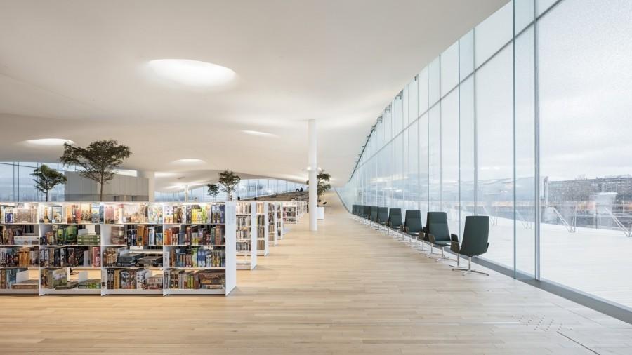 "img 1575366500 39847@900 - 每天万人报到!入列《TIME》世界最佳景点,芬兰""颂歌中央图书馆"""