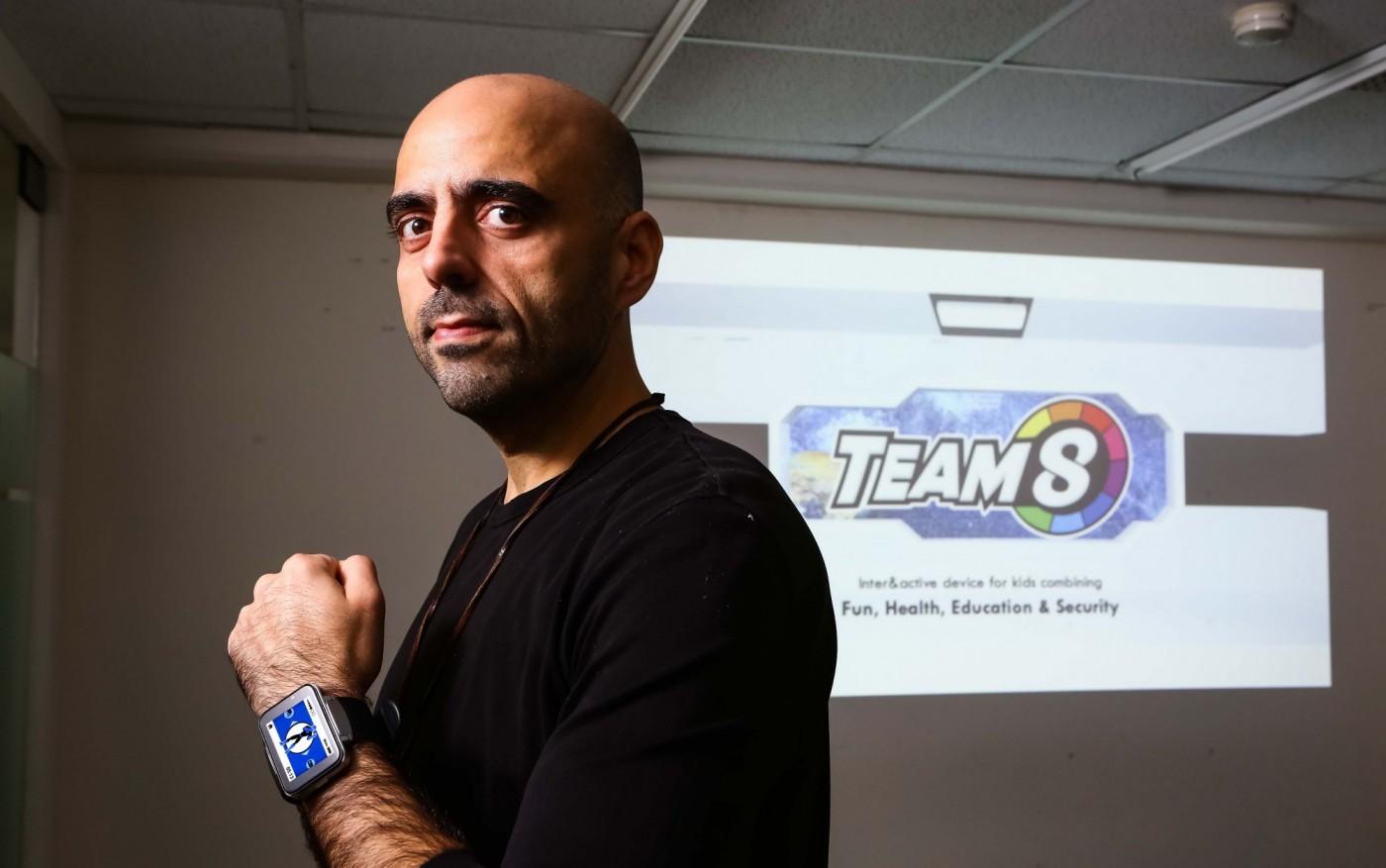 讓孩子擁有超級英雄!Team 8智慧手錶如何終結兒童肥胖及手機成癮?