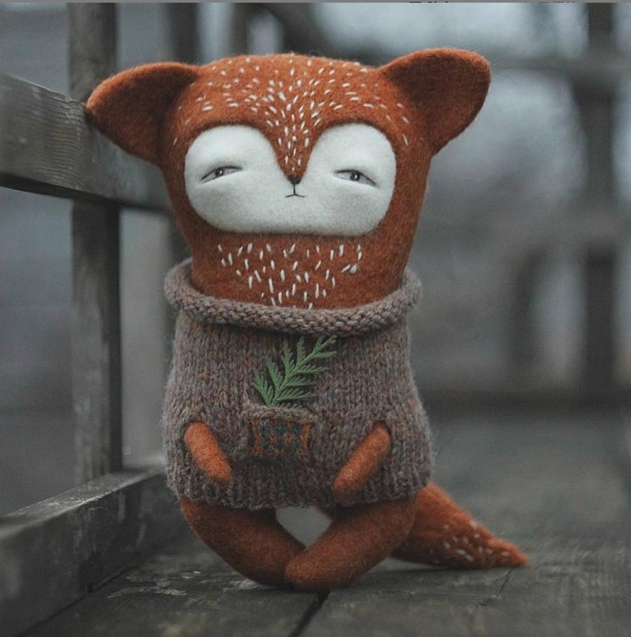 """img 1577705587 20206@900 - 厌世得可爱!结合羊毛毡、缝纫、刺绣工艺,俄国艺术家的""""厌世动物园"""""""