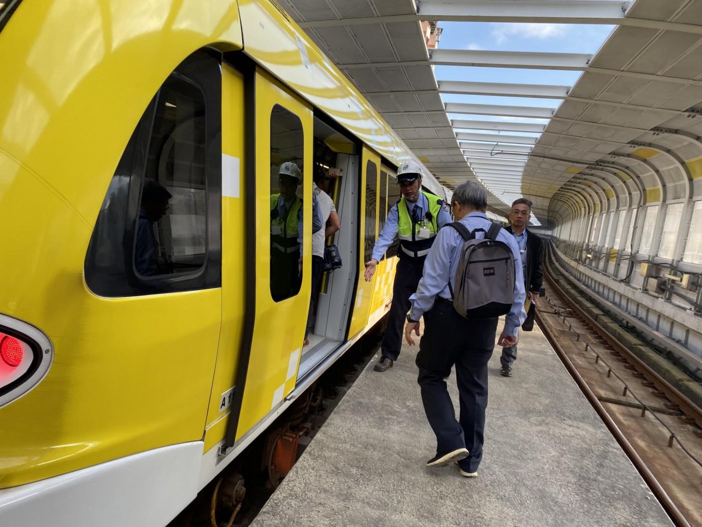 環狀線通車前夕履勘出狀況,列車模擬演練「假故障變真案例」