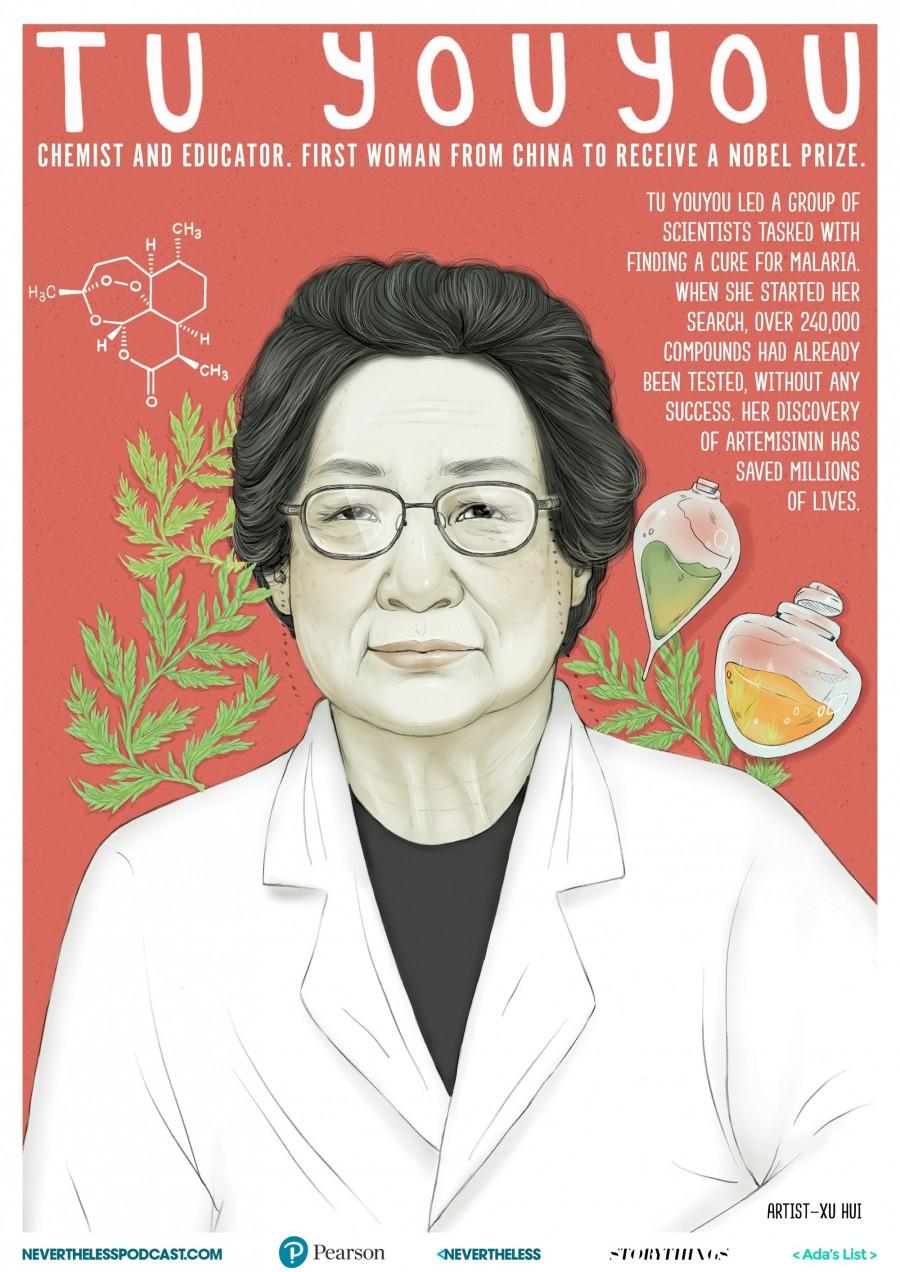img 1578651409 40932@900 - 看见才能相信!打破刻板印象,艺术家打造 8 款杰出女性科学家插画海报,开放下载
