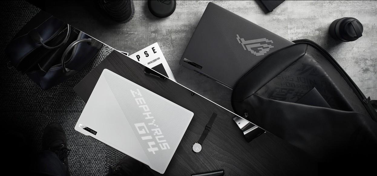 華碩ROG推了一台不閃霓虹燈的黑白電競筆電!西風之神G14是如何誕生的?