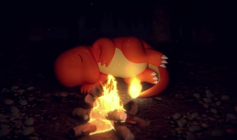 30分鐘看著小火龍睡覺!寶可夢推ASMR營火短片,聲音行銷到底夯什麼?