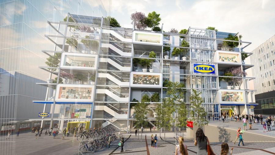 IKEA維也納無車店