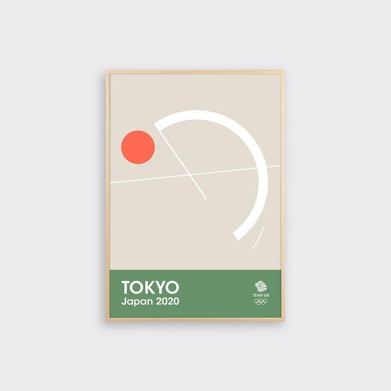 img 1582363177 18263@900 - 奥运海报也能如此优雅!6 款英国队设计版画,极简展现竞技的动态之美