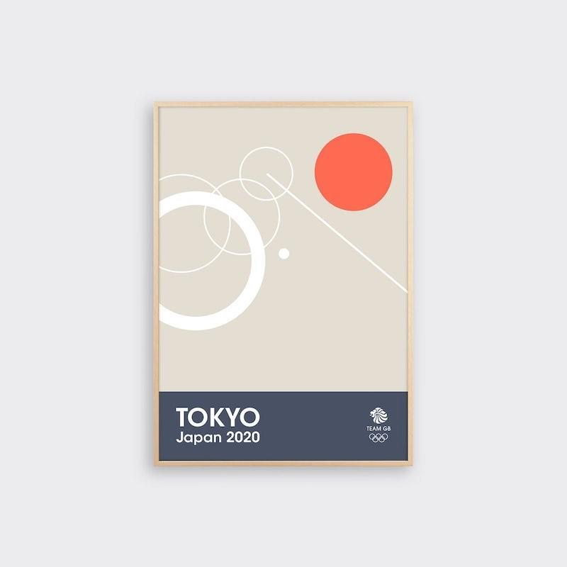 img 1582363181 77608@900 - 奥运海报也能如此优雅!6 款英国队设计版画,极简展现竞技的动态之美