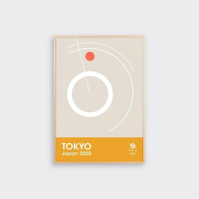 img 1582363185 48233@900 - 奥运海报也能如此优雅!6 款英国队设计版画,极简展现竞技的动态之美