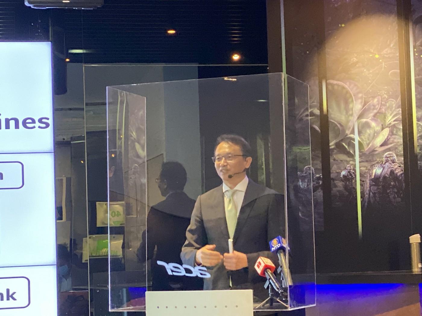 不惜用防護罩也要開記者會!宏碁「啦啦隊董事長」陳俊聖,如何帶團隊衝破疫情考驗?