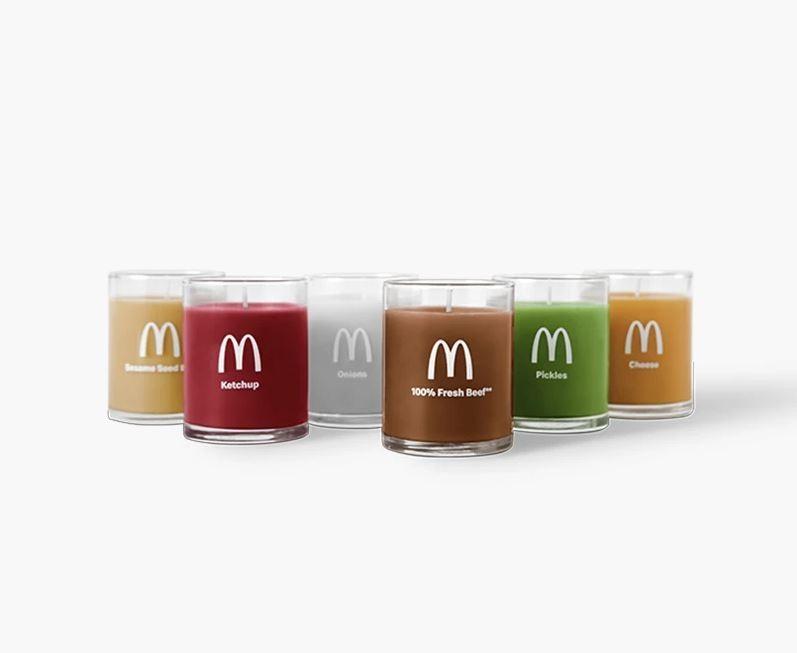 搶購一空!麥當勞悄悄上架「漢堡味」蠟燭,要你點燃牛肉香氣是想做什麼?