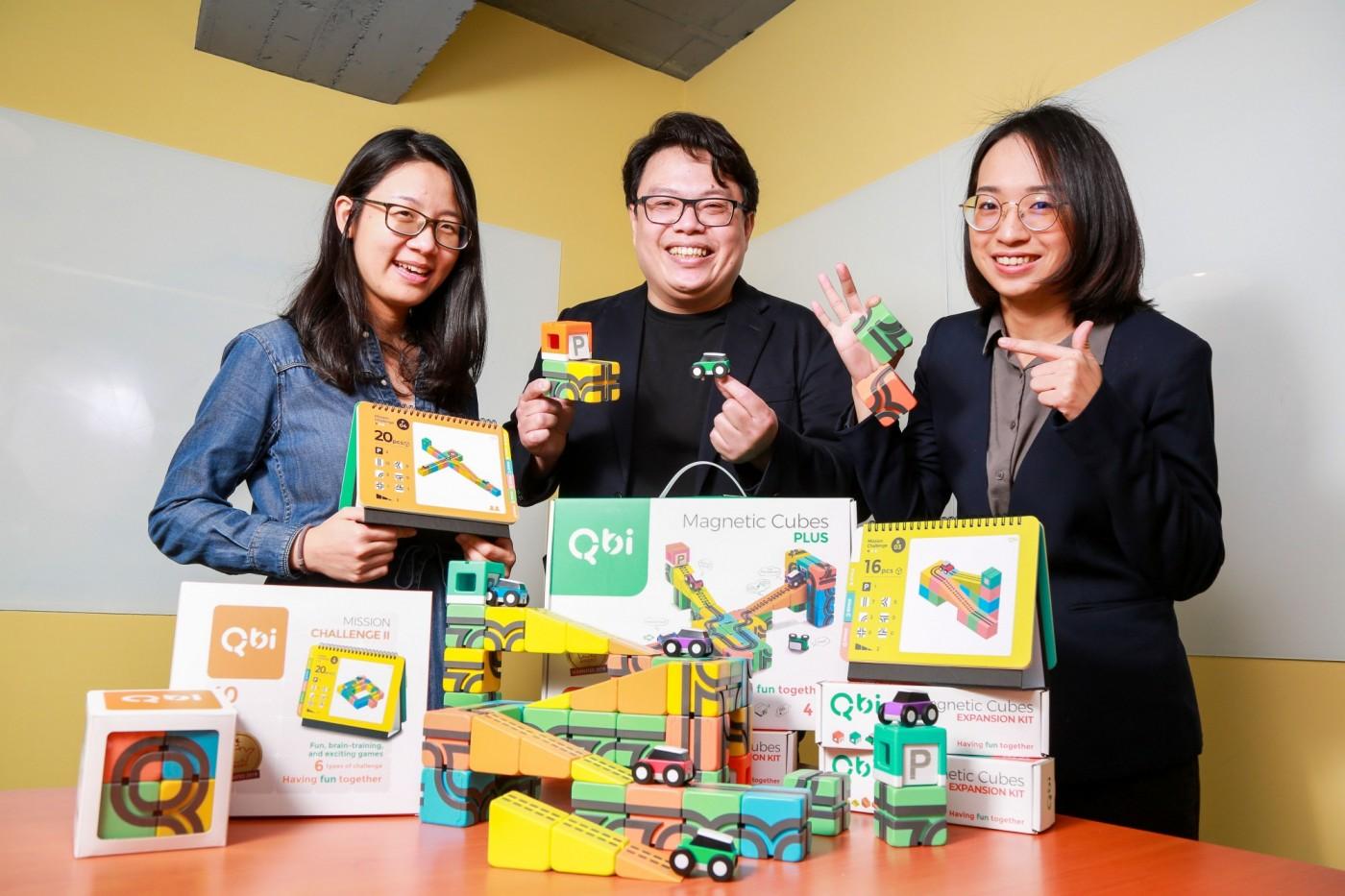 新手爸媽的創業之路:玩具品牌Qbi誕生,打造台灣製造的國際級玩具!