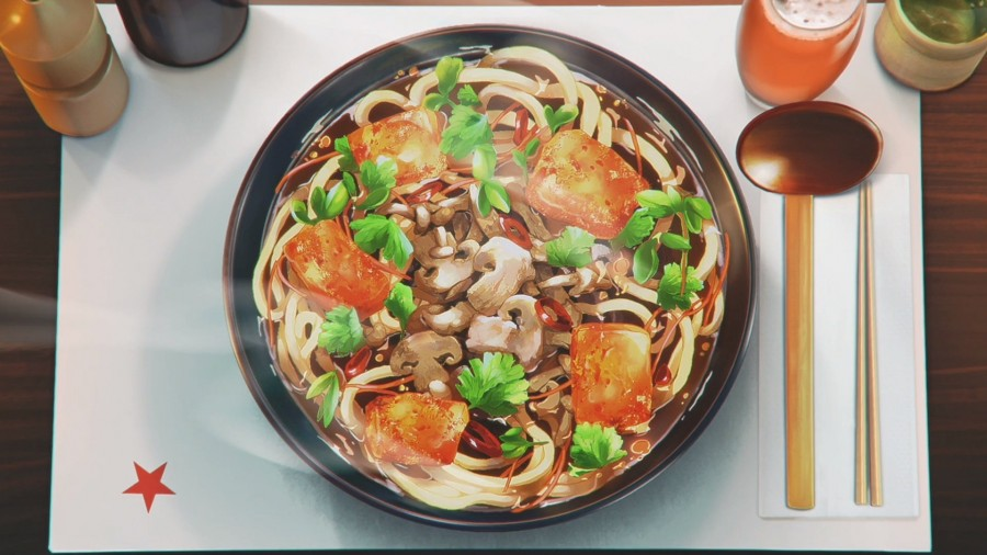 img 1583380819 31385@900 - 灵感来自日本动漫!英国餐厅广告新诠释,细腻动画让人想起宫崎骏、新海诚