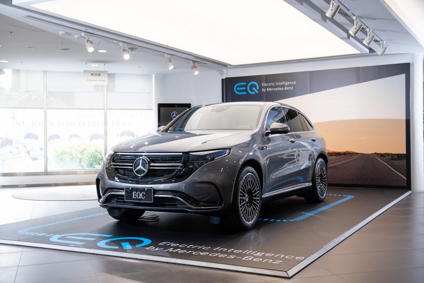賓士首款電動車EQC來了!面對台灣車主的充電焦慮,它怎麼解?