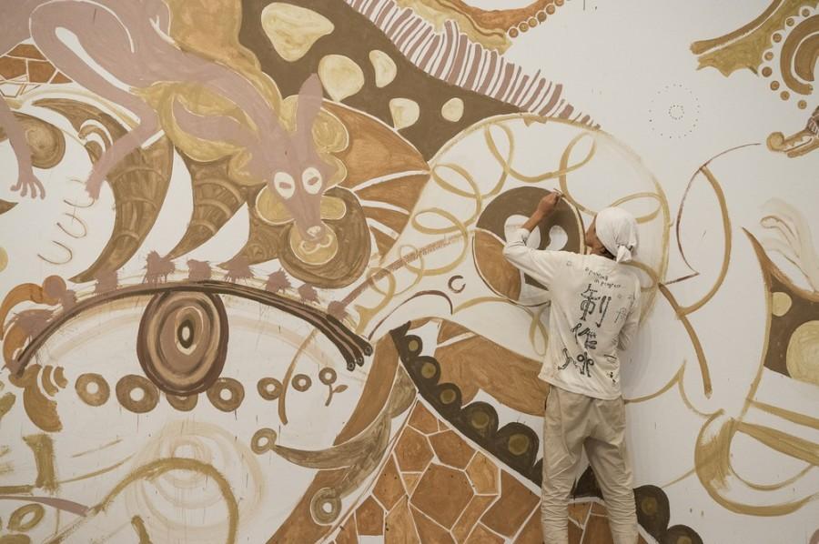 img 1584515909 26458@900 - 用泥土画下动植物!日本艺术家浅井裕介壁画创作,打造远古神话场景
