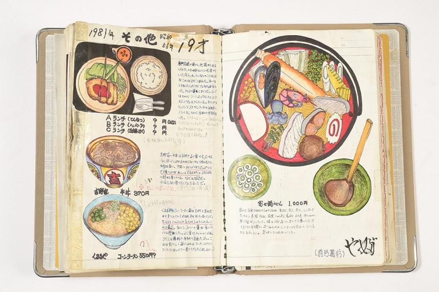 img 1585038288 28871@900 - 一画就是23年!退休日本厨师的插画笔记本:牛丼、天妇罗、寿司、炒饭都有