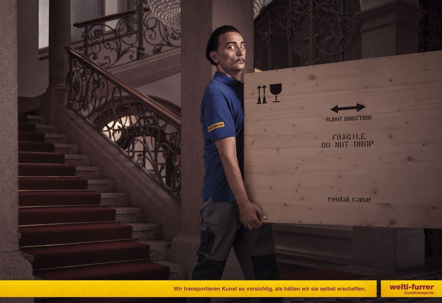 img 1585211225 44921@900 - 2019 瑞士海报奖公布!6 则广告设计,展览打破直觉、翻玩品牌 logo 的新创意