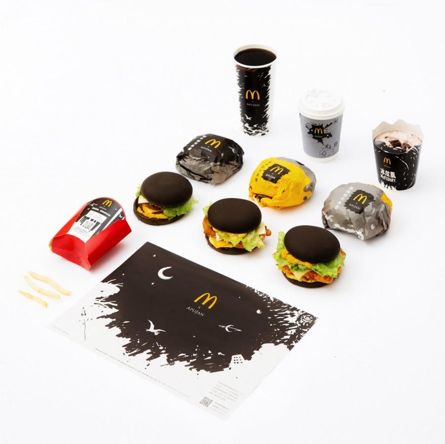 img 1588651273 83496@900 - 黑控注意!麦当劳再度携手 APUJAN 订制限量包装,打造黑色星空下的奇幻异想