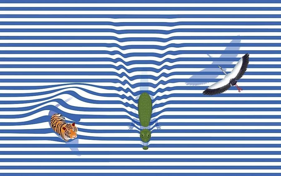 img 1589280088 15047@900 - 融入生态概念的泰国矿泉水包装设计,以插画勾勒与水相依的动物身影!