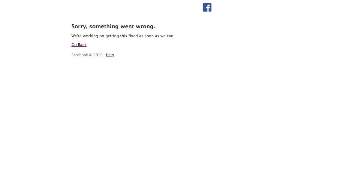 【更新】Facebook粉絲專頁、社團突然故障「一片空白」,官方最新回應