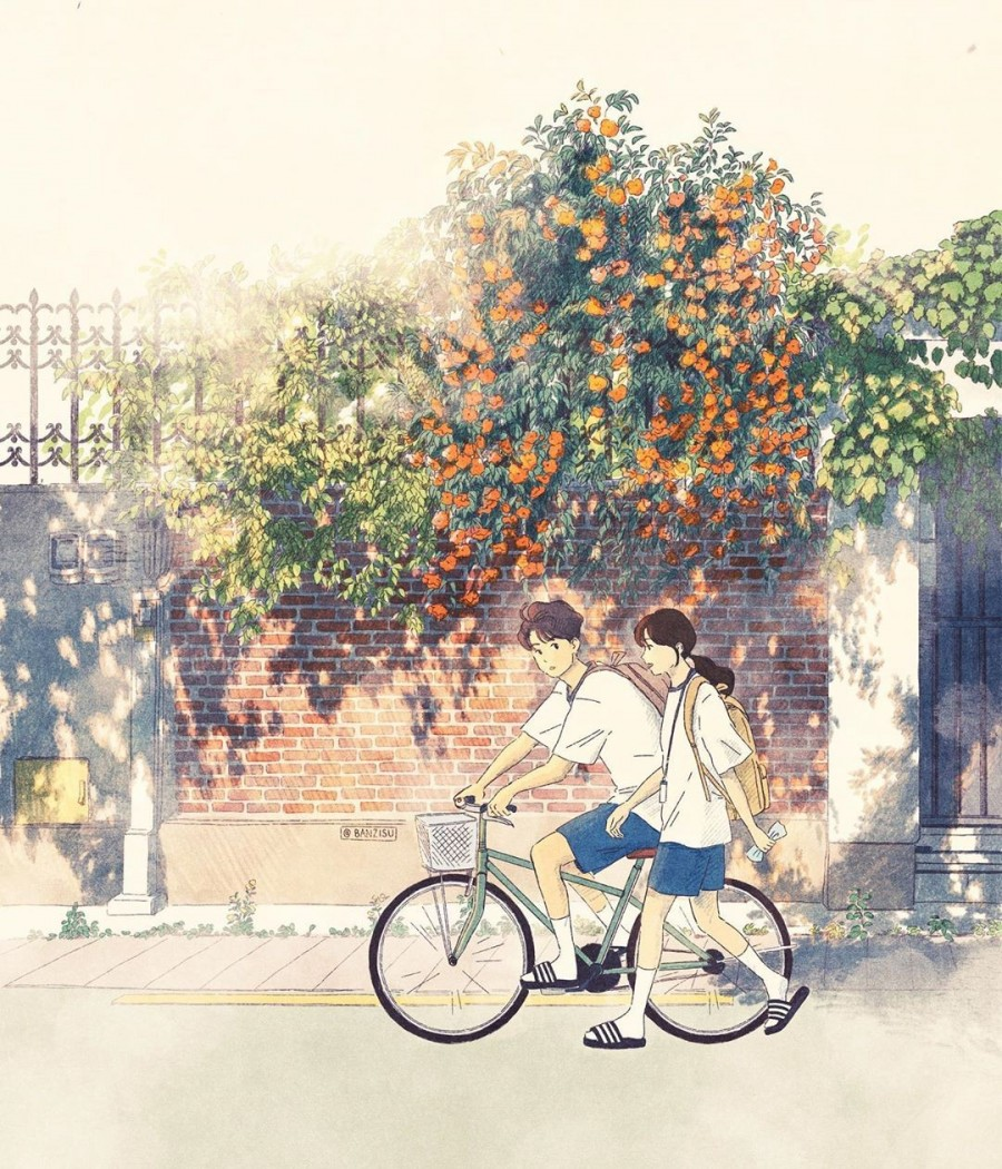 img 1590292505 62941@900 - 轻柔笔触、温煦色彩,插画家 Banzisu 笔下的幸福日常观察