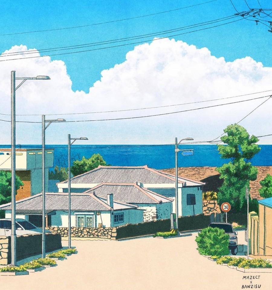 img 1590292509 85334@900 - 轻柔笔触、温煦色彩,插画家 Banzisu 笔下的幸福日常观察