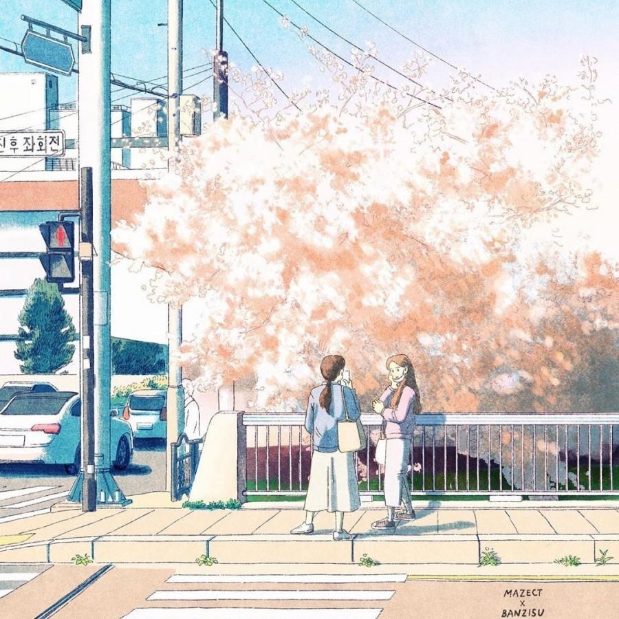 img 1590292513 77020@900 - 轻柔笔触、温煦色彩,插画家 Banzisu 笔下的幸福日常观察
