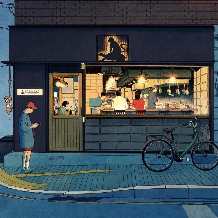 img 1590292527 62402@900 - 轻柔笔触、温煦色彩,插画家 Banzisu 笔下的幸福日常观察
