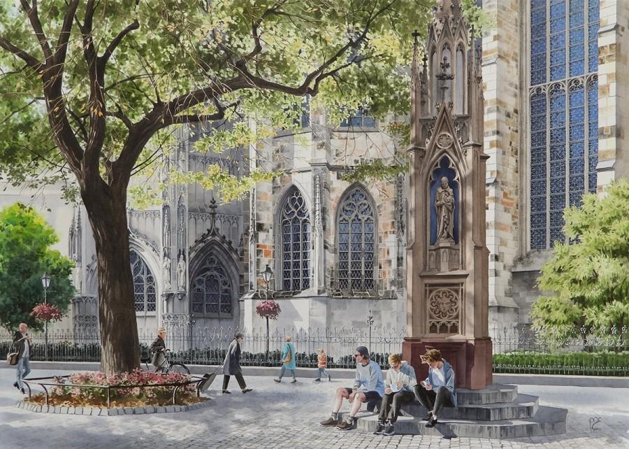 img 1590493647 36338@900 - 为欧洲古建筑绘上时光印记:以新眼光看待回忆,Eleanor Mill 不一样的旅行素描