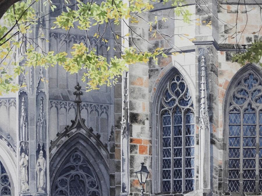 img 1590493658 73281@900 - 为欧洲古建筑绘上时光印记:以新眼光看待回忆,Eleanor Mill 不一样的旅行素描