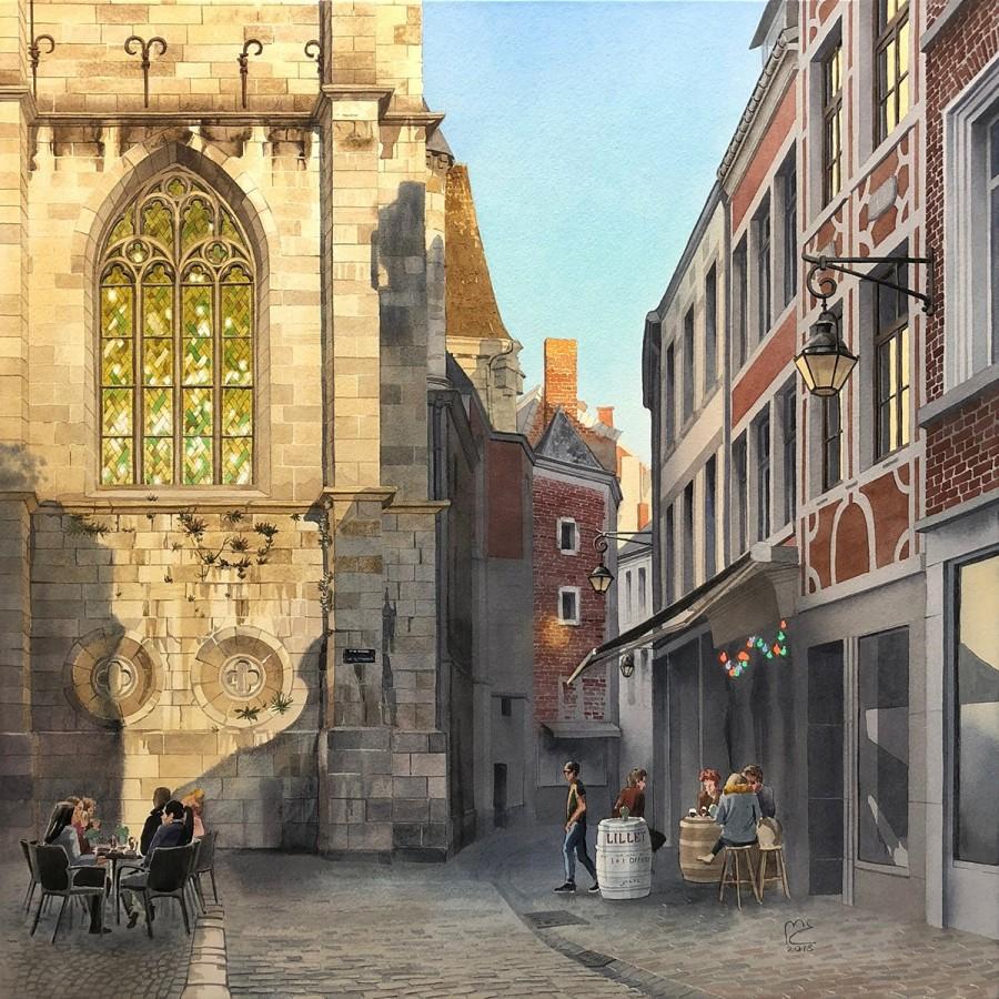 img 1590493673 47278@900 - 为欧洲古建筑绘上时光印记:以新眼光看待回忆,Eleanor Mill 不一样的旅行素描