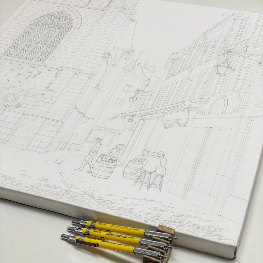 img 1590493676 33345@900 - 为欧洲古建筑绘上时光印记:以新眼光看待回忆,Eleanor Mill 不一样的旅行素描
