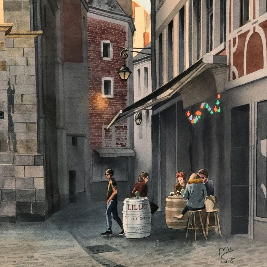 img 1590493682 53067@900 - 为欧洲古建筑绘上时光印记:以新眼光看待回忆,Eleanor Mill 不一样的旅行素描