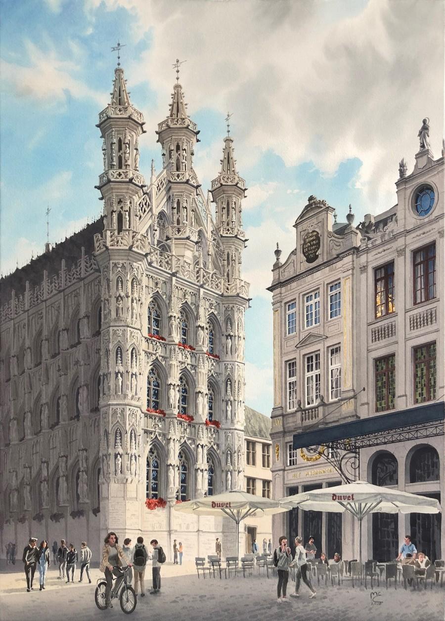 img 1590493690 18098@900 - 为欧洲古建筑绘上时光印记:以新眼光看待回忆,Eleanor Mill 不一样的旅行素描