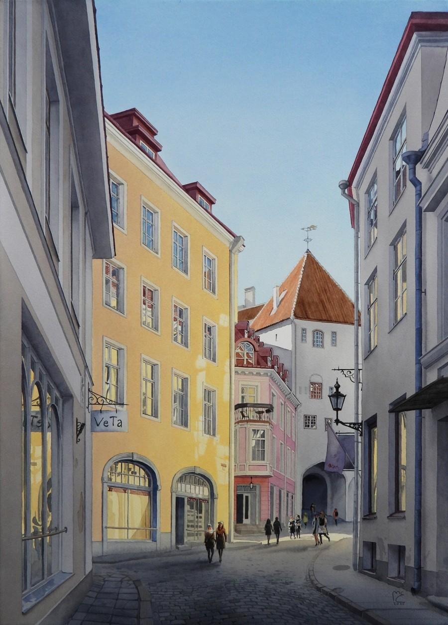 img 1590493703 54584@900 - 为欧洲古建筑绘上时光印记:以新眼光看待回忆,Eleanor Mill 不一样的旅行素描