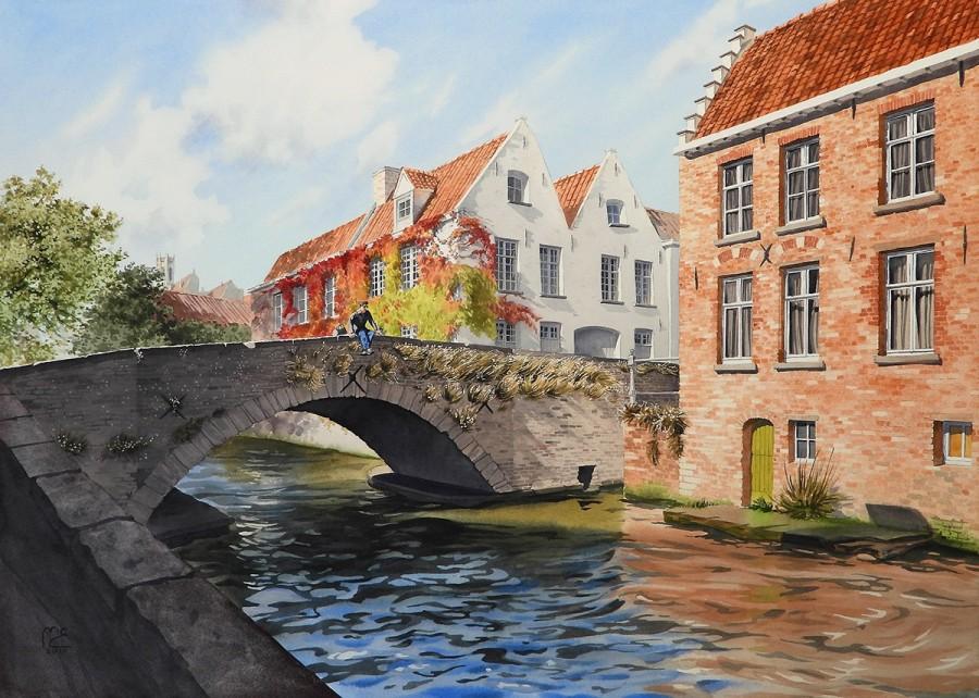 img 1590493707 20478@900 - 为欧洲古建筑绘上时光印记:以新眼光看待回忆,Eleanor Mill 不一样的旅行素描