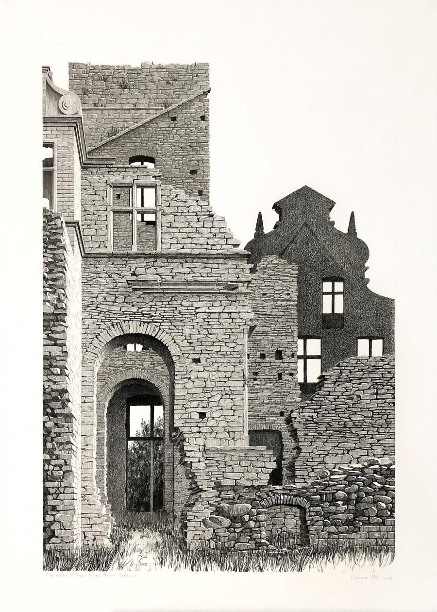 img 1590493710 31738@900 - 为欧洲古建筑绘上时光印记:以新眼光看待回忆,Eleanor Mill 不一样的旅行素描