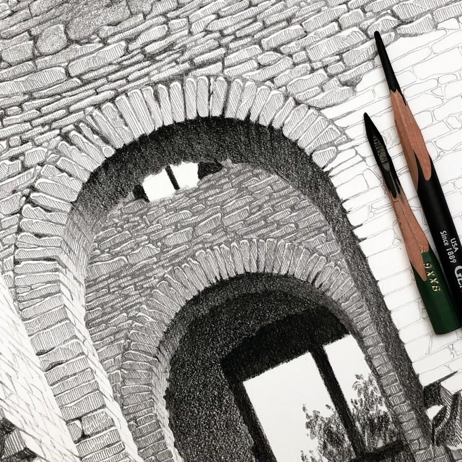 img 1590493715 81833@900 - 为欧洲古建筑绘上时光印记:以新眼光看待回忆,Eleanor Mill 不一样的旅行素描