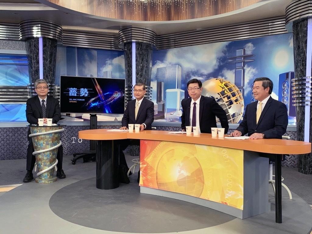 劉揚偉、陳其宏產業大咖同框!談後疫情時代的3個關鍵挑戰